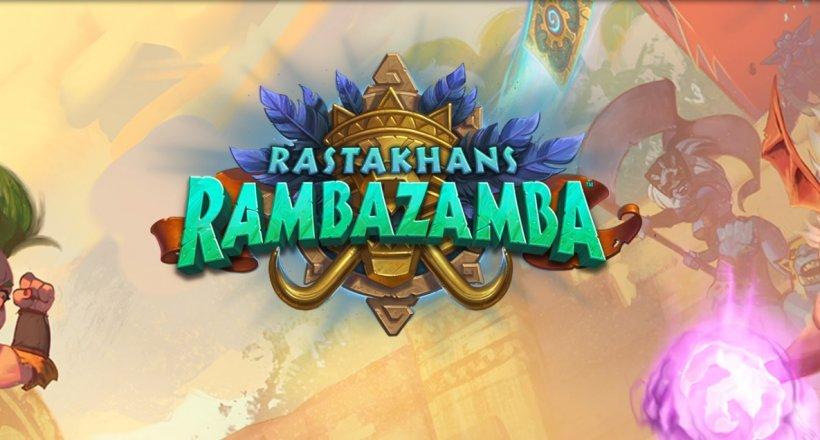 Blizzcon 2018 Hearthstone Rastakhans Rambazamba reveal