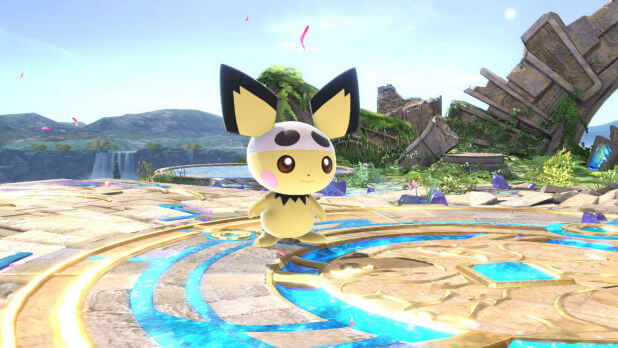 Super Smash Bros Ultimate Pichu