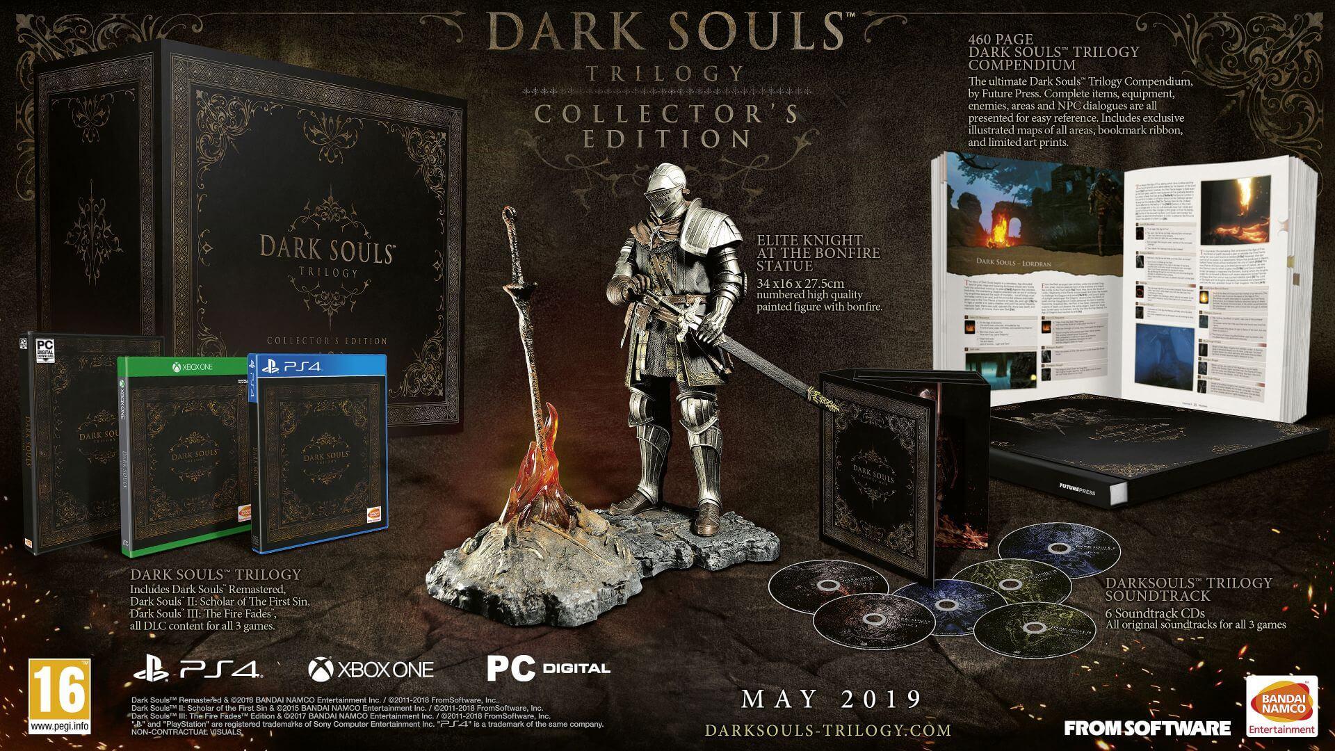Dark Souls Trilogy Collectors Edition: Inhalt, Release ...