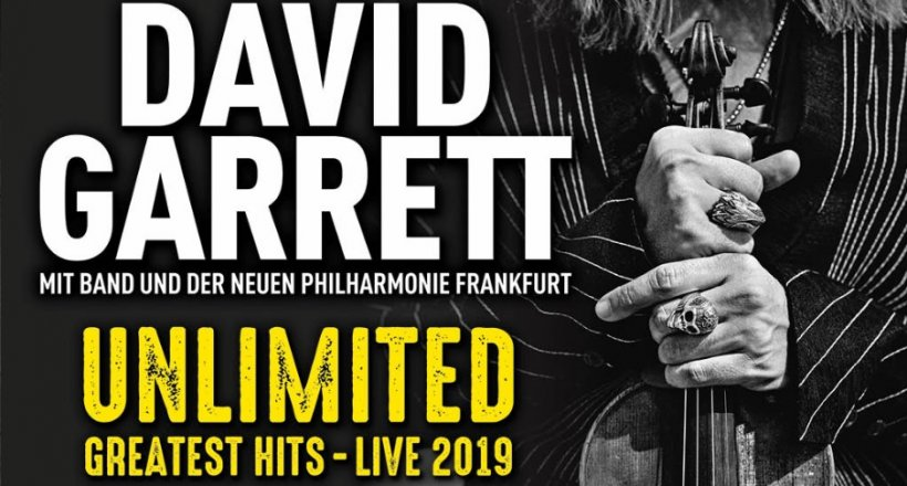 David Garrett Unlimited Greatest Hits Live 2019