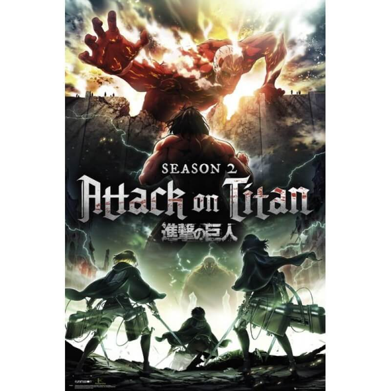 Attack On Titan Season 2 Deutsch