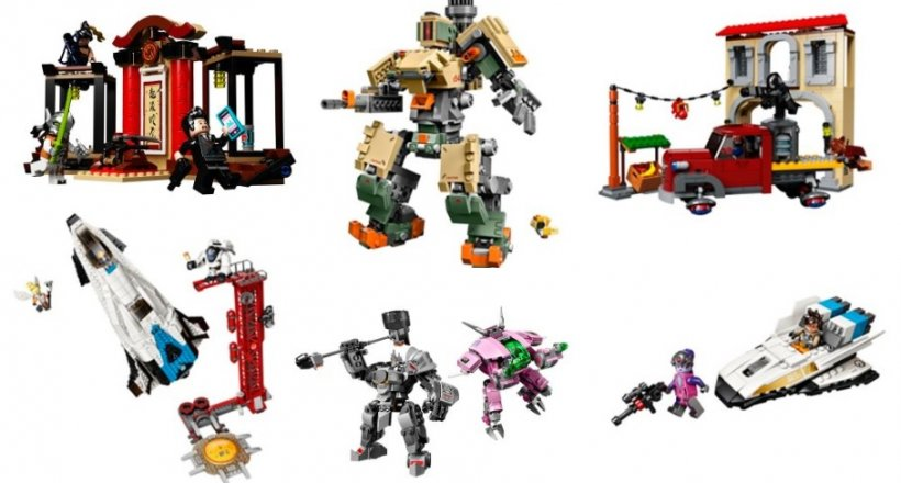 Lego Overwatch Bausätze out now