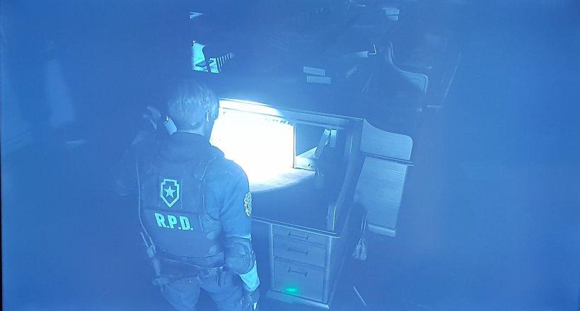 Resident Evil 2 Leons Schreibtisch