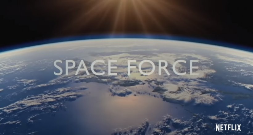Space FOrce Netflix Streaming Satire Steve Carell