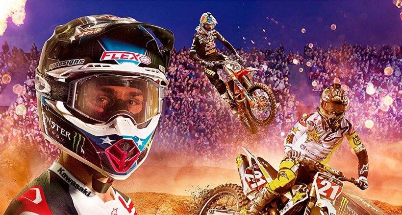 Monster Energy Supercross 2 Gewinnspiel Verlosung gewinnen gratis PS4 Xbox One