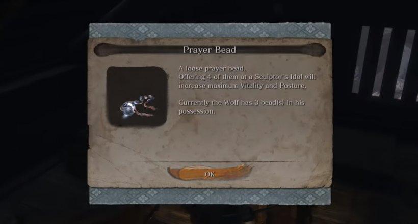 Sekiro Shadows Die Twice Gebetsperlen