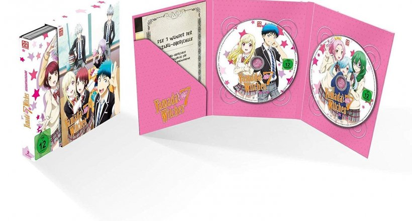 Yamada-kun and the Seven Witches Release Termin DVD Blu-ray