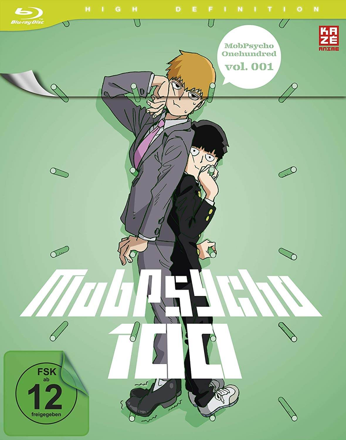 Mob Psycho 100 Test Blu-ray