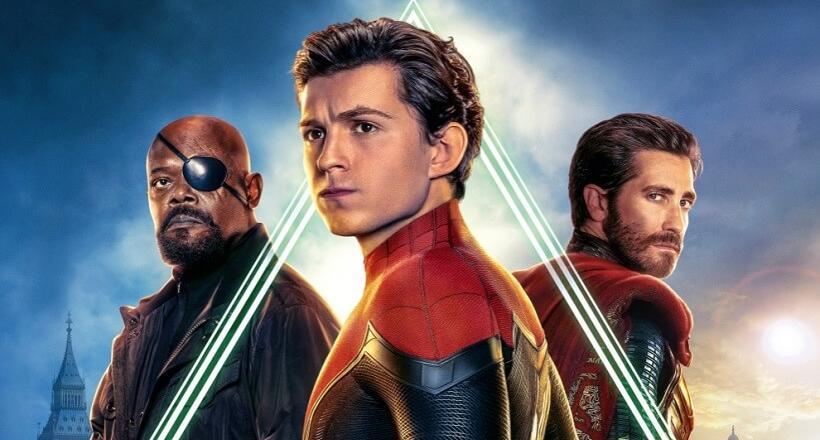 Spider-Man Far From Home Blu-rays Gewinnspiel Verlosung