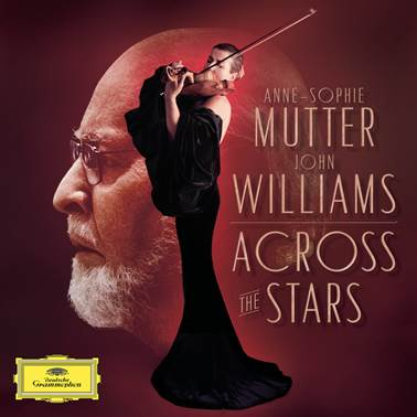 Across the Stars John Williams Anne-Sophie Mutter Vinyl