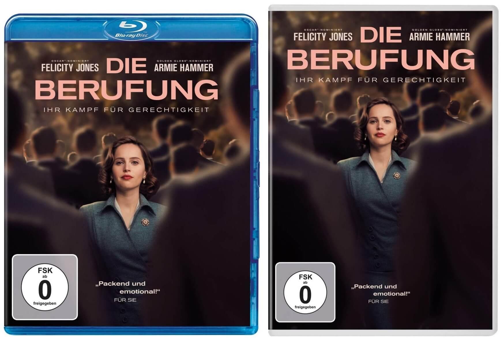 Die Berufung Ab 2282019 Auf Dvd Und Blu Ray Erhältlich