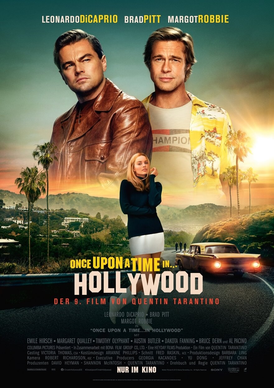 Once upon a time in Hollywood Kinostart