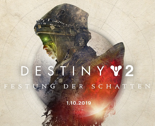 Im Rahmen der gamescom 2019 Opening Night hat Entwickler Bungie zwei neue Destiny 2 Festung der Schatten Trailer veröffentlicht