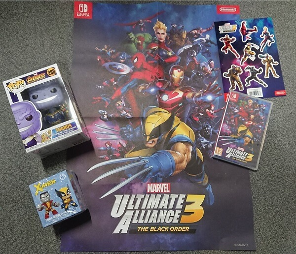 Marvel Ultimate Alliance 3: The Black Order Fanpaket