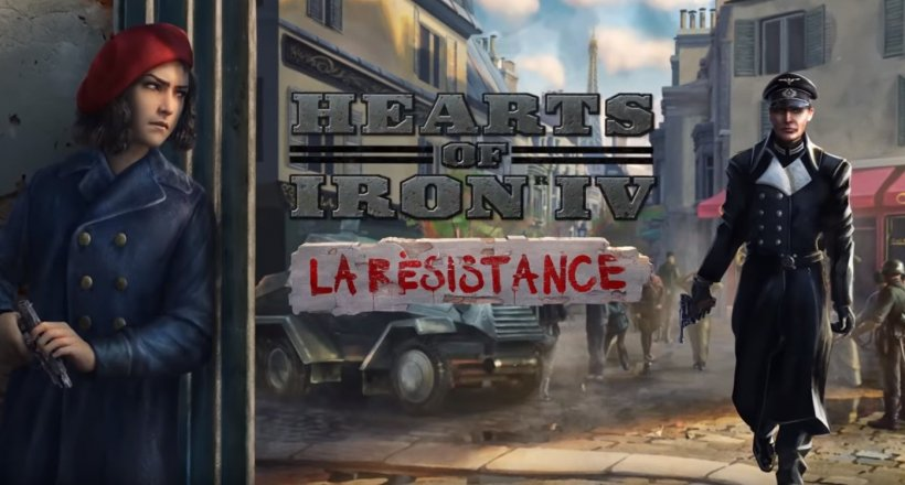 Hearts of Iron IV La Résistance Release