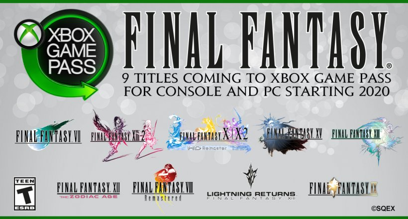 Final Fantasy Xbox Game Pass X019