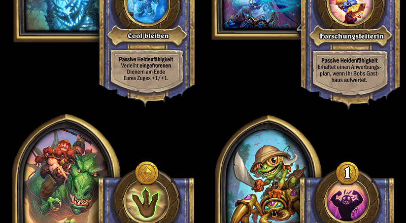Hearthstone Schlachtfeld Helden Update November 2019