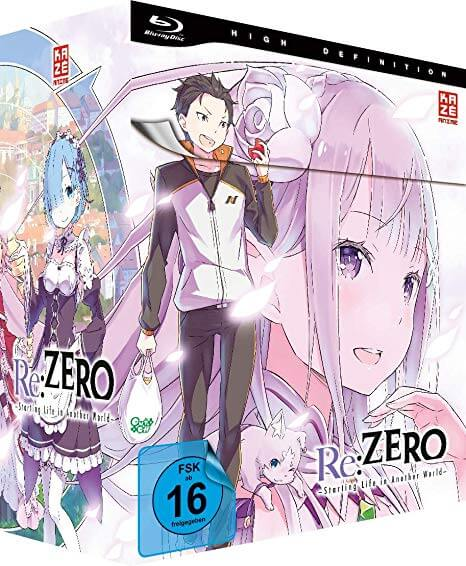 Re:Zero DVD Blu-ray Start