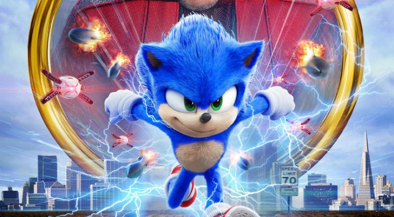 Sonic The Hedgehog Blu-rays