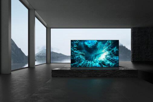 CES 2020 Sony 8K Full Array LED TV ZH8