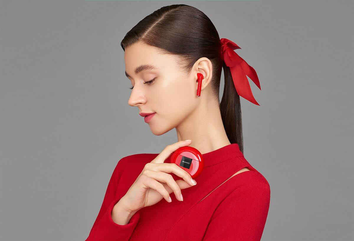 Huawei Freebuds 3 rot Verkaufsstart