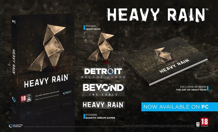 Quantic Dream PC-Box-Versionen Release