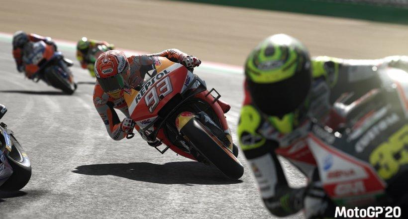MotoGP20 Gameplay Video