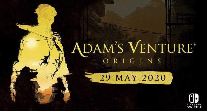 Adam's Venture Switch Release