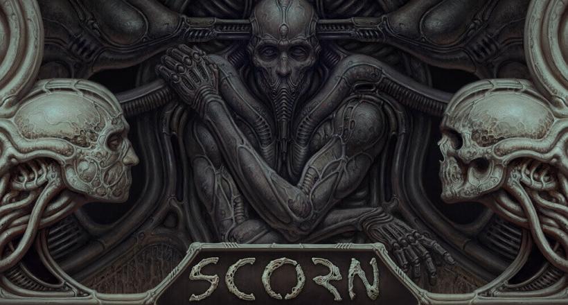 Scorn Gameplay Xbox Series X