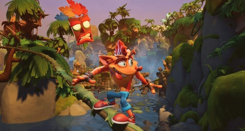 Crash Bandicoot 4 Gameplay