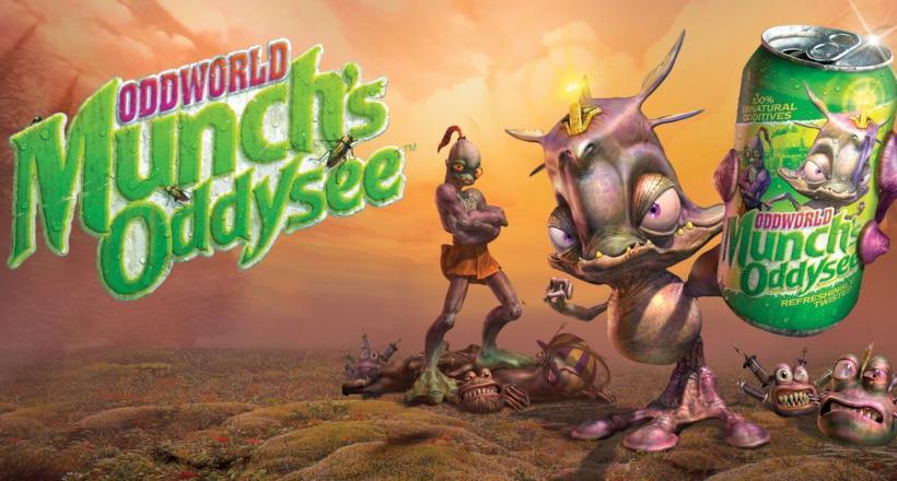 Oddworld: Munch's Oddysee Box