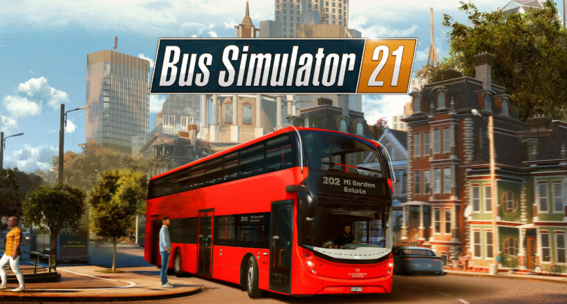 PAX Online x EGX Digital Bus Simulator 21