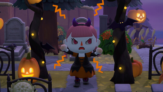 Animal Crossing: New Horizons Halloween Update Trailer