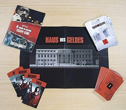 Haus des Geldes Escape Game