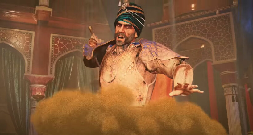 Prince of Persia The Sands of Time PS5