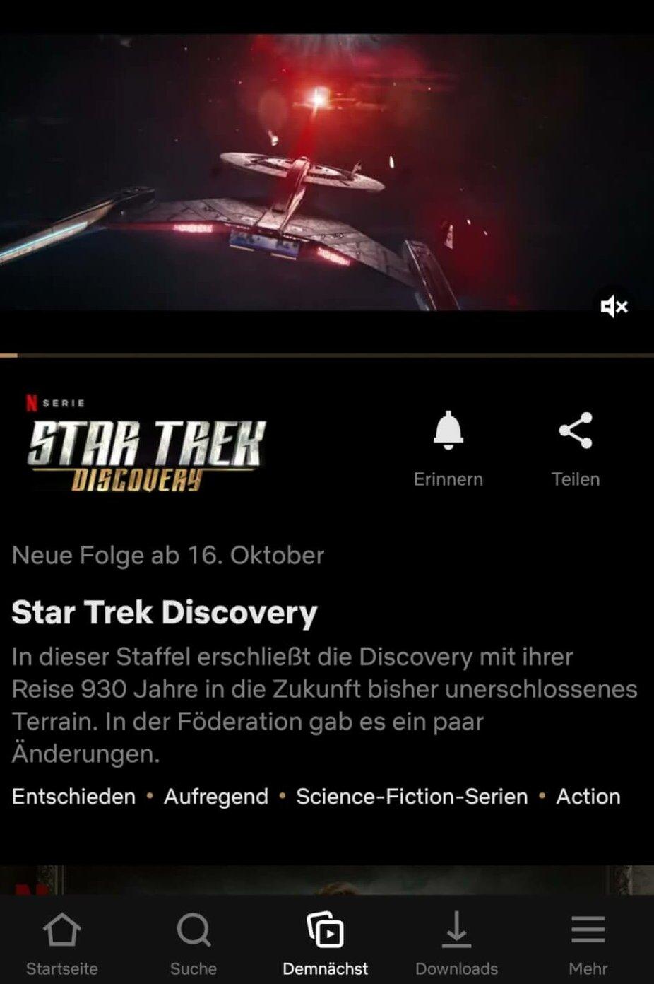 Star Trek Discovery Staffel 3 Netflix