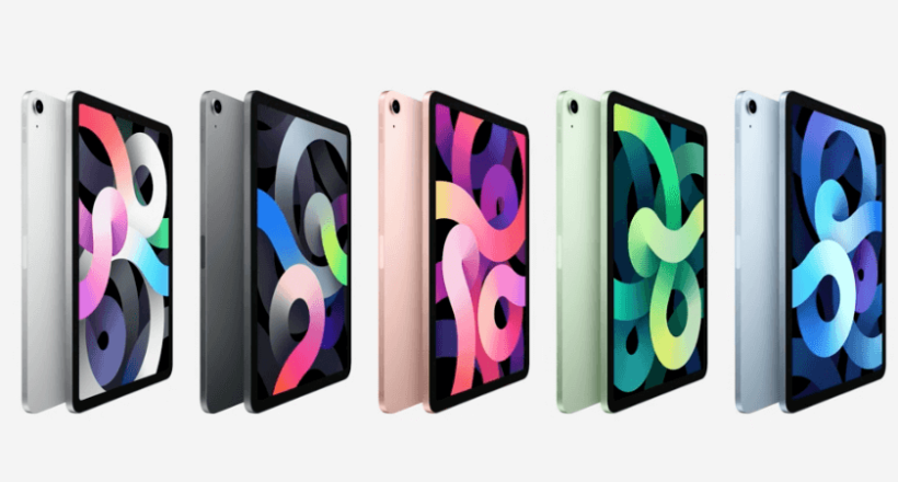 iPad Air Farben Redesign 2020