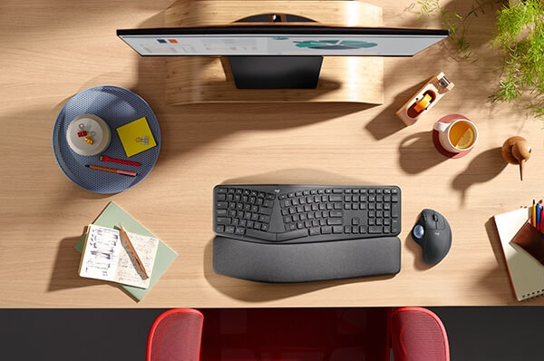 Logitech ERGO M575 Wireless Trackball Maus