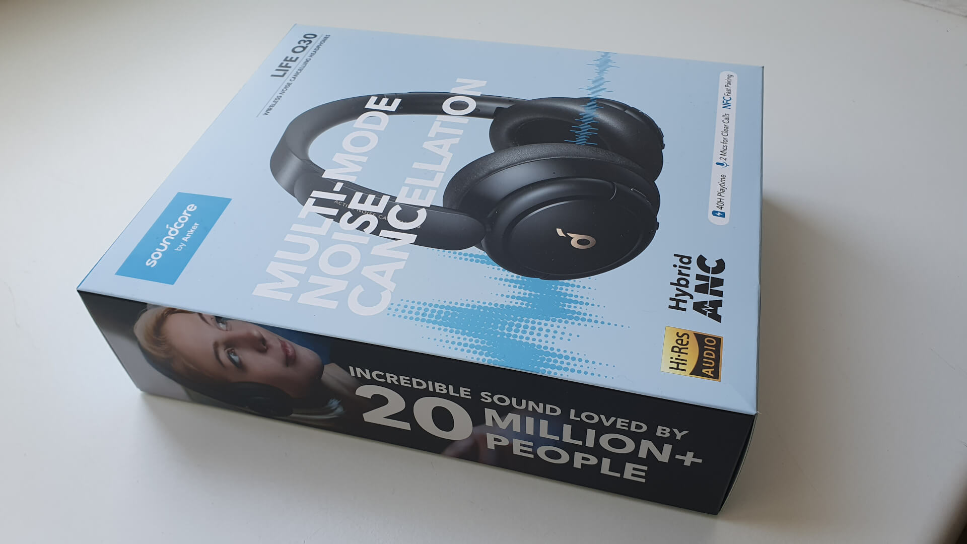 Soundcore Life Q30 Verpackung