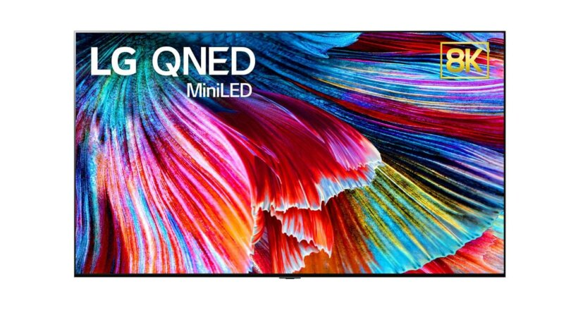CES 2021 LG 86-Zoll 8K QNED TV