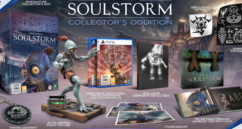 Oddworld: Soulstorm Box