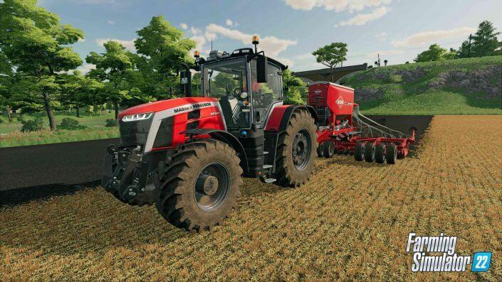 Landwirtschafts-Simulator 22 Gameplay