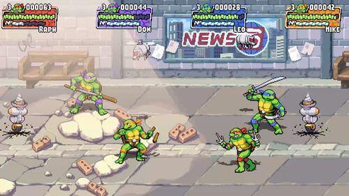 Teenage Mutant Ninja Turtles Shredder's Revenge Switch