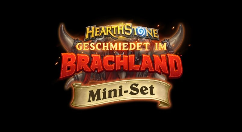 Hearthstone Geschmiedet im Brachland Mini-Set