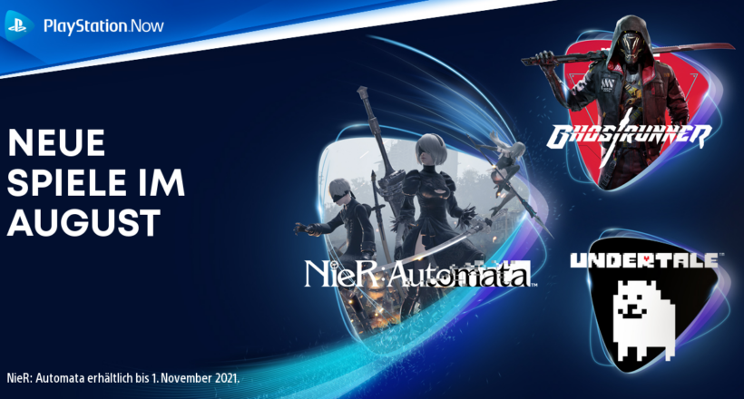 PlayStation Now Spiele August
