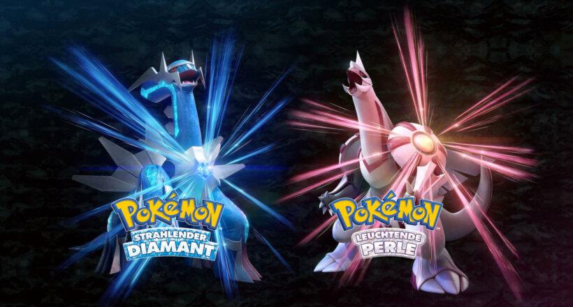 Pokémon Strahlender Diamantem Pokémon Leuchtende Perle