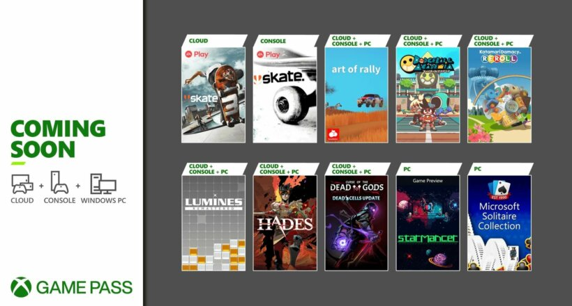 Xbox Game Pass August 2021 Highlights
