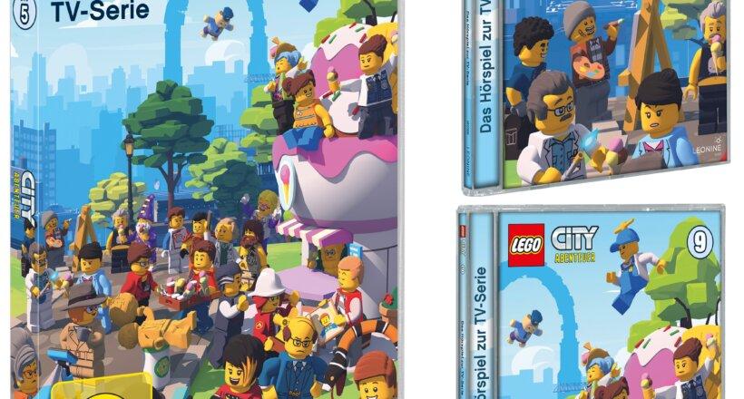 Lego City DVDs